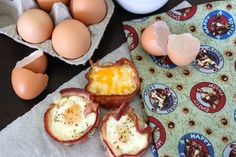 Organic Eggs In A Basket Recipe #OrganicEggRecipes www.FreeHenHousePlans.net