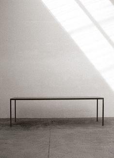 maarten van severen   steel table ST93