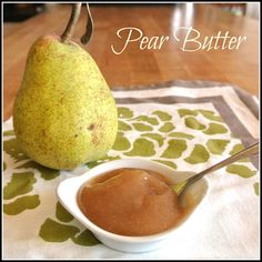 Pear Butter step by step easy recipe