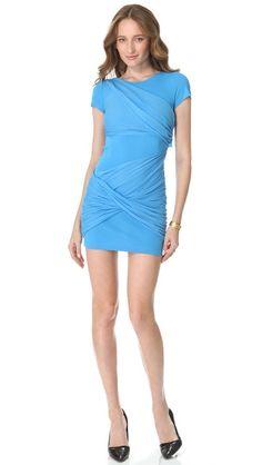 alice + olivia Short Sleeve Goddess Dress