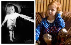 We Made Some Noise Editorial for Babiekins Magazine  #fashion #editorial #kids #magazine
