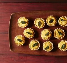 Butternut Squash-Goat Cheese Bites  #thanksgiving #sides #fall #holidays