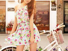 dream wardrob, fashion, cloth, style, dream closet, dresses, summer, beauti, floral dress