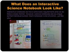 Interactive Science Notebook Tutorial