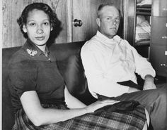 "Mildred and Richard Loving are profiled in ""The Loving Story."""