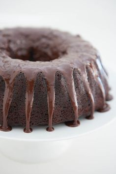 "Decadent Chocolate Bundt Cake: ""Now this isn't so much of a recipe, as a tip on how to make a package of boxed cake mix into the moistest, richest cake you've ever tasted."""