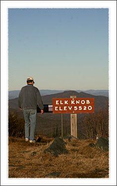 Elk Knob State Park near Boone North Carolina