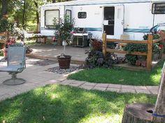 Champions Riverside Resort: Seasonal campsites
