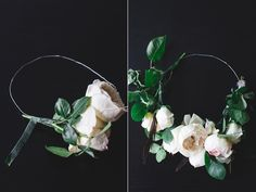 Floral Crown DIY // http://ruffledblog.com/floral-crown-diy