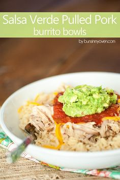 Salsa Verde Pulled Pork (Slow Cooker Recipe!) — Buns In My Oven
