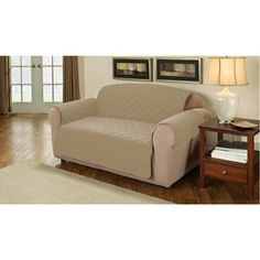 2 Seater Sofa Protector - Pebble - Sofa Protector - Slip Covers