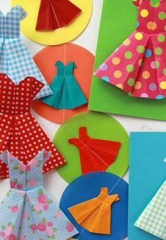 origami dress / video