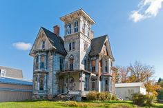 abandoned home in coudersport pa - Google Search villa style, haunted houses, victorian, abandoned homes, zen style, place, artsi architectur