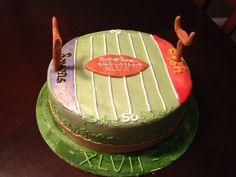 Superbowl cake!