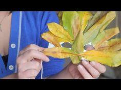 Autumn Leaves Crafts for Kids : Fall Crafts for Kids