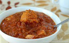 Pumpkin Chicken Chili #grainfree #glutenfree