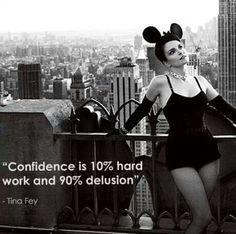 tinafey, peopl, confid, funni, minnie mouse, inspir, word, quot, tina fey