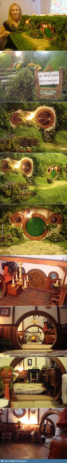 Awesome Hobbit Dollhouse!