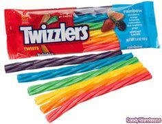 rainbow color, birthday parti, licoric twist, candi, rainbows, rainbow licoric, rainbow twizzler, 18piec box, parti idea