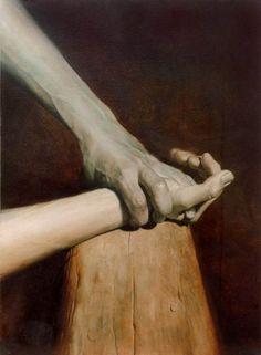 Adolf Lachman, Crucifixion: Nailing to the Cross, XI (1998)