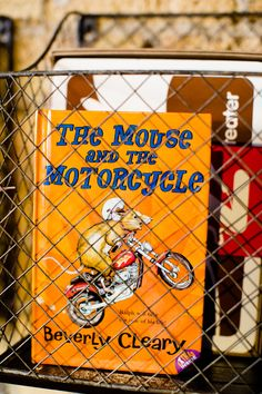 Come read all about it, The Mouse and the Motorcycle.