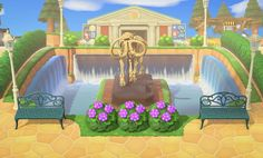 Get Inspired With These Wonderful Waterfall Designs From Animal Crossing: New Horizons - myPotatoGames