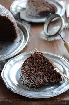 Cinnamon + Orange-Spiced Chocolate Zucchini Cake by anediblemosaic #Cake #Cinnamon #Orange #Spice #Zucchini
