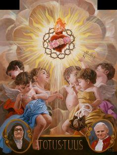 A los pies de la Virgen de Fatima