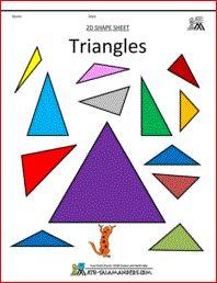 Triangles printables