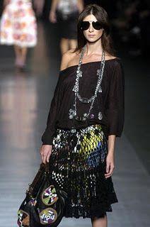 ask for this ruffled skirt pattern ! Ruffl Skirt, Skirt Patterns, Crochet Skirts