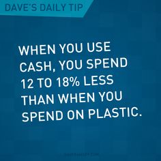 Want to spend less? Use cash.