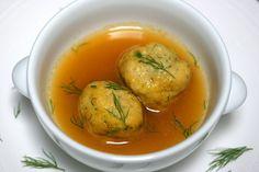 Recipe: Whole-wheat matzo balls || Photo: Andrew Scrivani for The New York Times