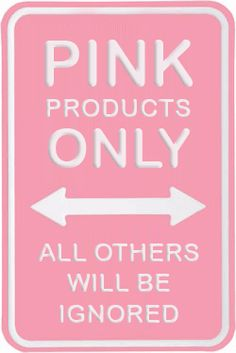 Pink Only - It's Official