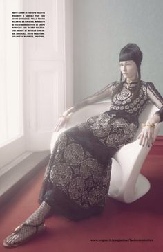 """""""An Up-to-Date Elegance"""" by Solve Sundsbo for Vogue Italia"""