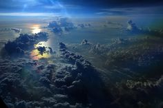 clouds, from above