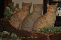 Arnold Print Works - Tabby cats