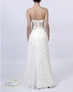 Mandy/wedding gown/women by pandaandshamrock on Etsy, $360.00