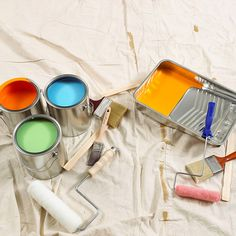 painting: tips + supplies