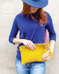 Corrine Clutch in Mi