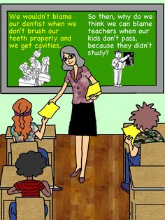 Entitlement vs. Responsibility.  SO TRUE! Sooooo many parents blame the teachers instead of themselves or their kids.