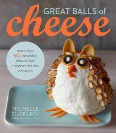 Holiday Cheese Ball Shapes