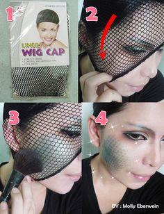 Scale creature skin makeup tutorial by ~mollyeberwein on deviantART