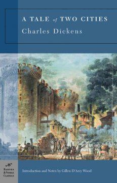 A Tale of Two Cities by Charles Dickens - a sad, tragic tale, but such unforgettable characters