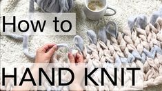 How to Hand Knit a C