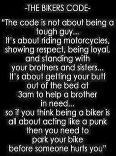 If you're a Motorcyc