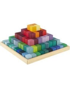 The Egyptians never imagined a pyramid THIS bright and colorful! Click above to browse through and buy our best #toy block sets to help your toddler develop creativity and coordination.