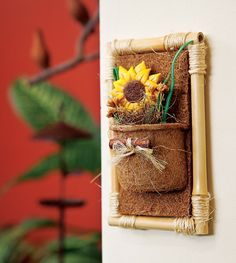 Quadro de bambu / DIY, craft