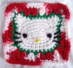 crochet...hello kitty....