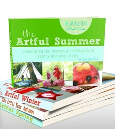 Looking for ideas to make each season magical? The Artful Year ebook series is full of family-friendly crafts, recipes, and activities... (Get them while you can! The Artful Year is available as eBooks thru the rest of the month; the pay-what-you-can sale is this week only...)