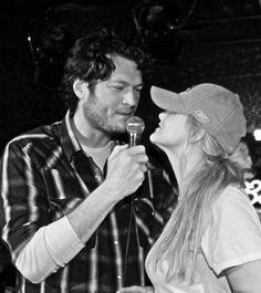 Miranda Lambert and Blake Shelton
